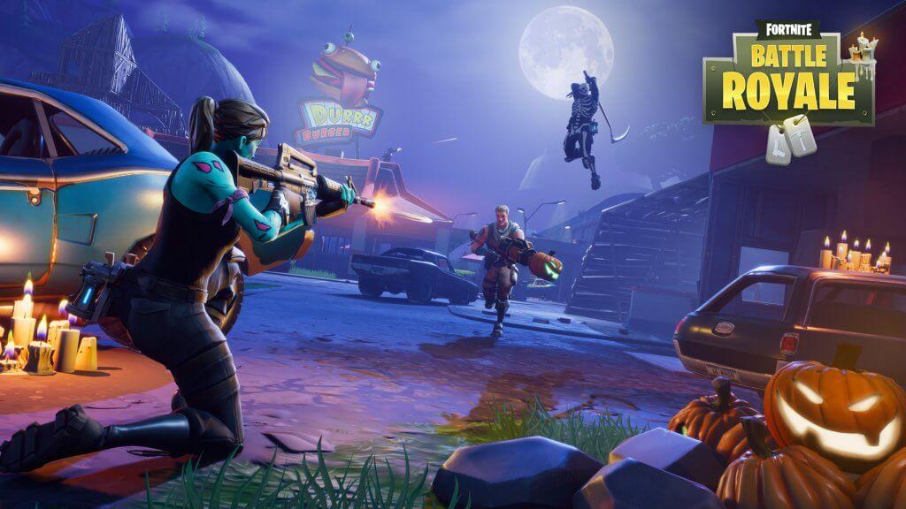 لعبة Fortnite تضيف نظام 60 إطار ثانية لمنصات Ps4 و Xbox One